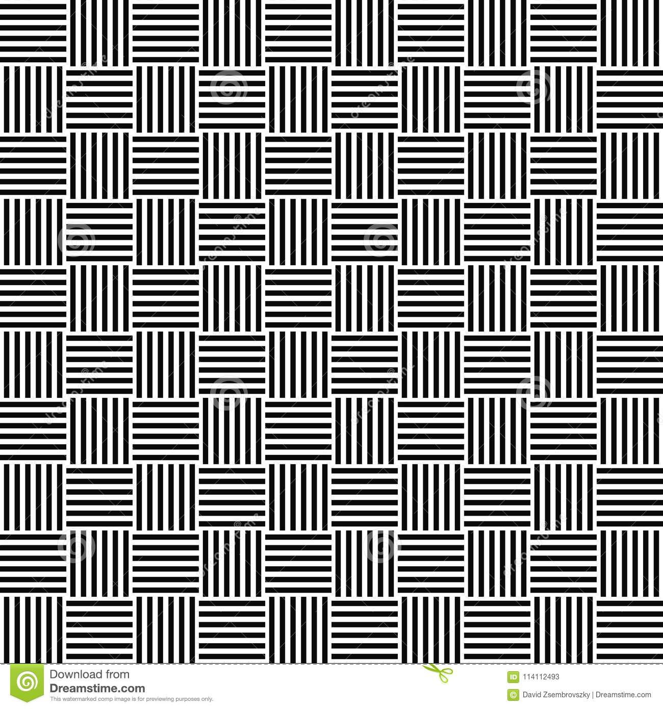 Download Black And White Seamless Floor Pattern Stock Vector