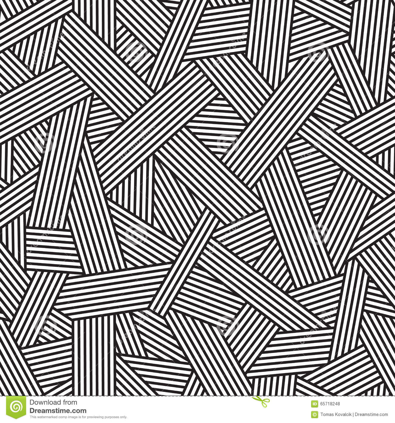 black and white seamless pattern geometric background