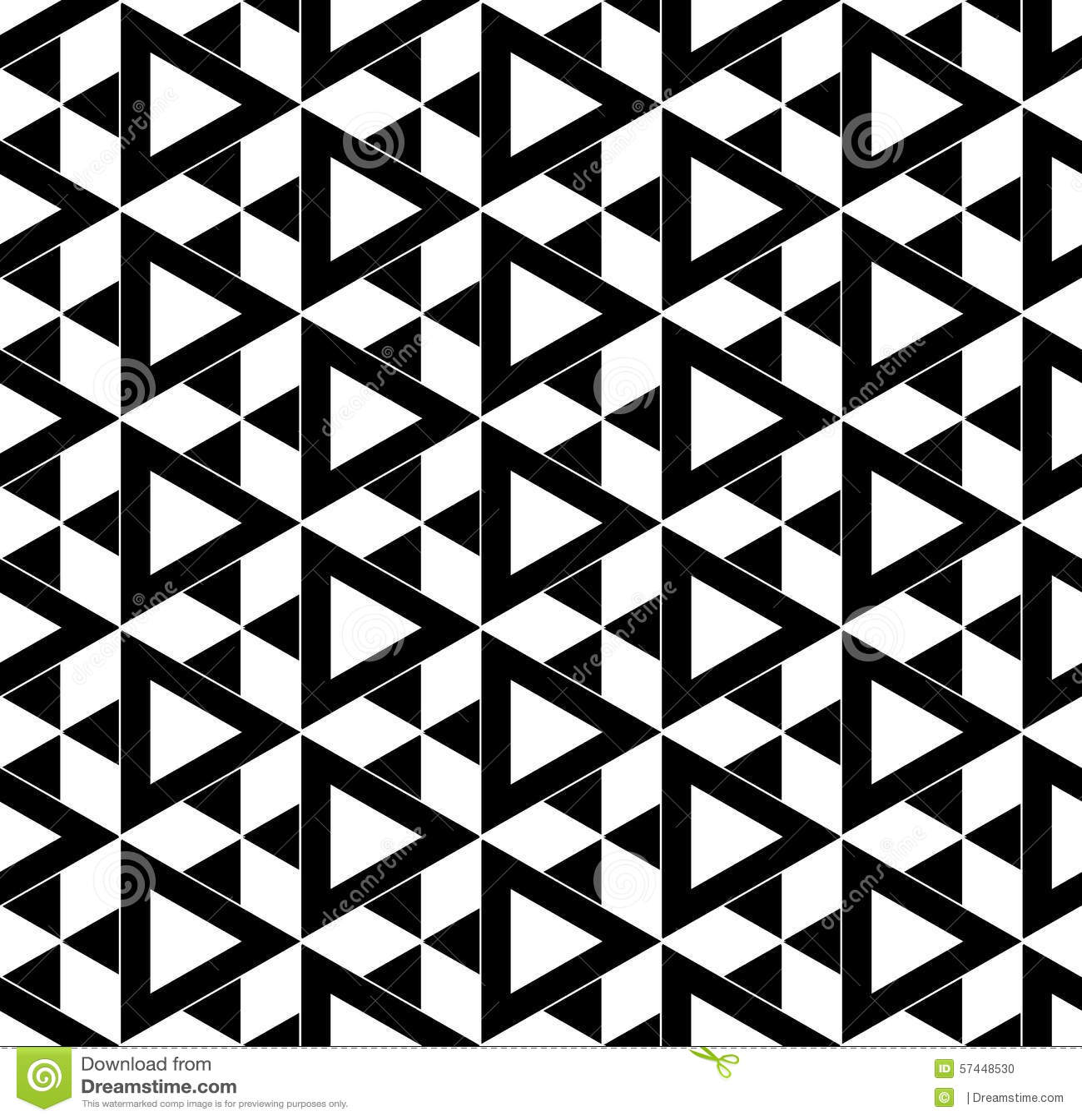 Black and white seamless pattern stars stock vector for Modern patterns black and white
