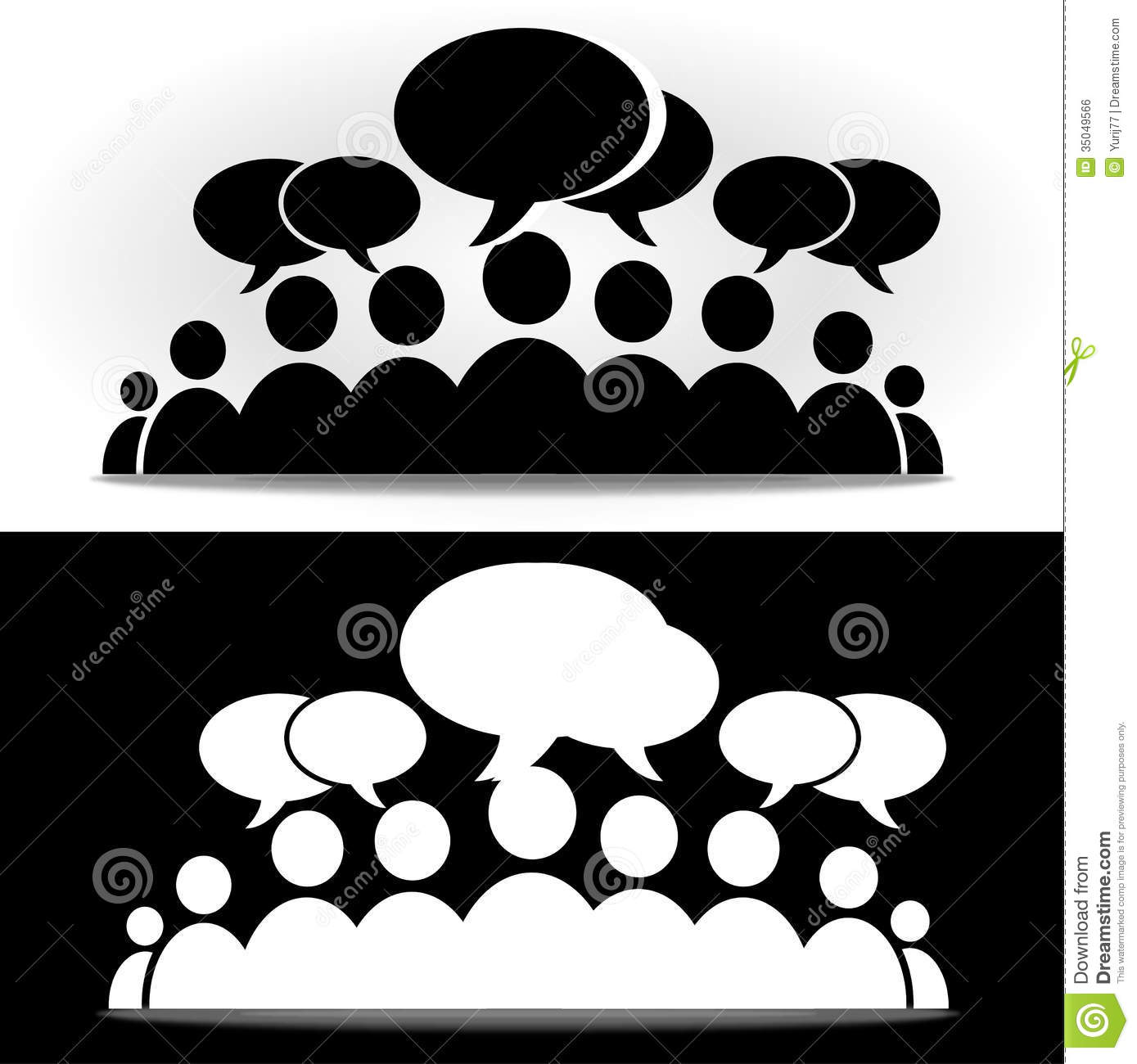 Black And White Social...Y Logo Design