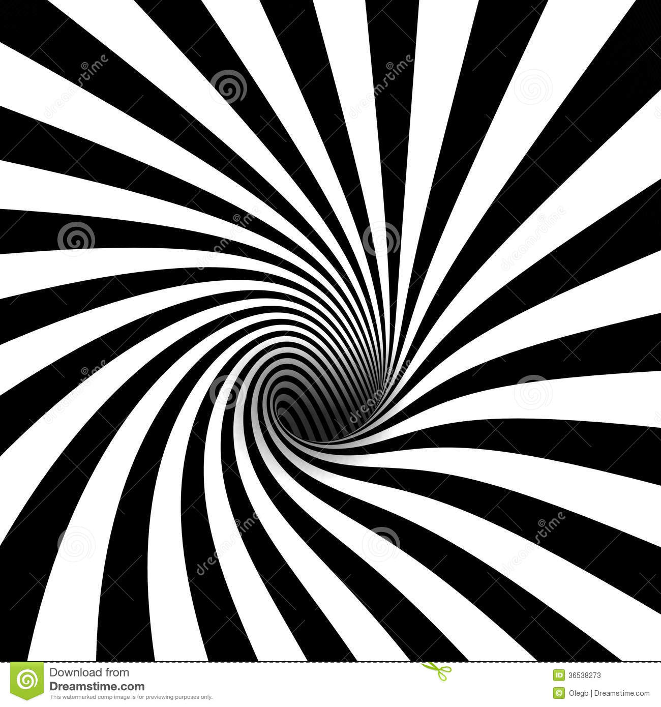 Black and white spiral stock illustration illustration of - Blanco y negro paint ...