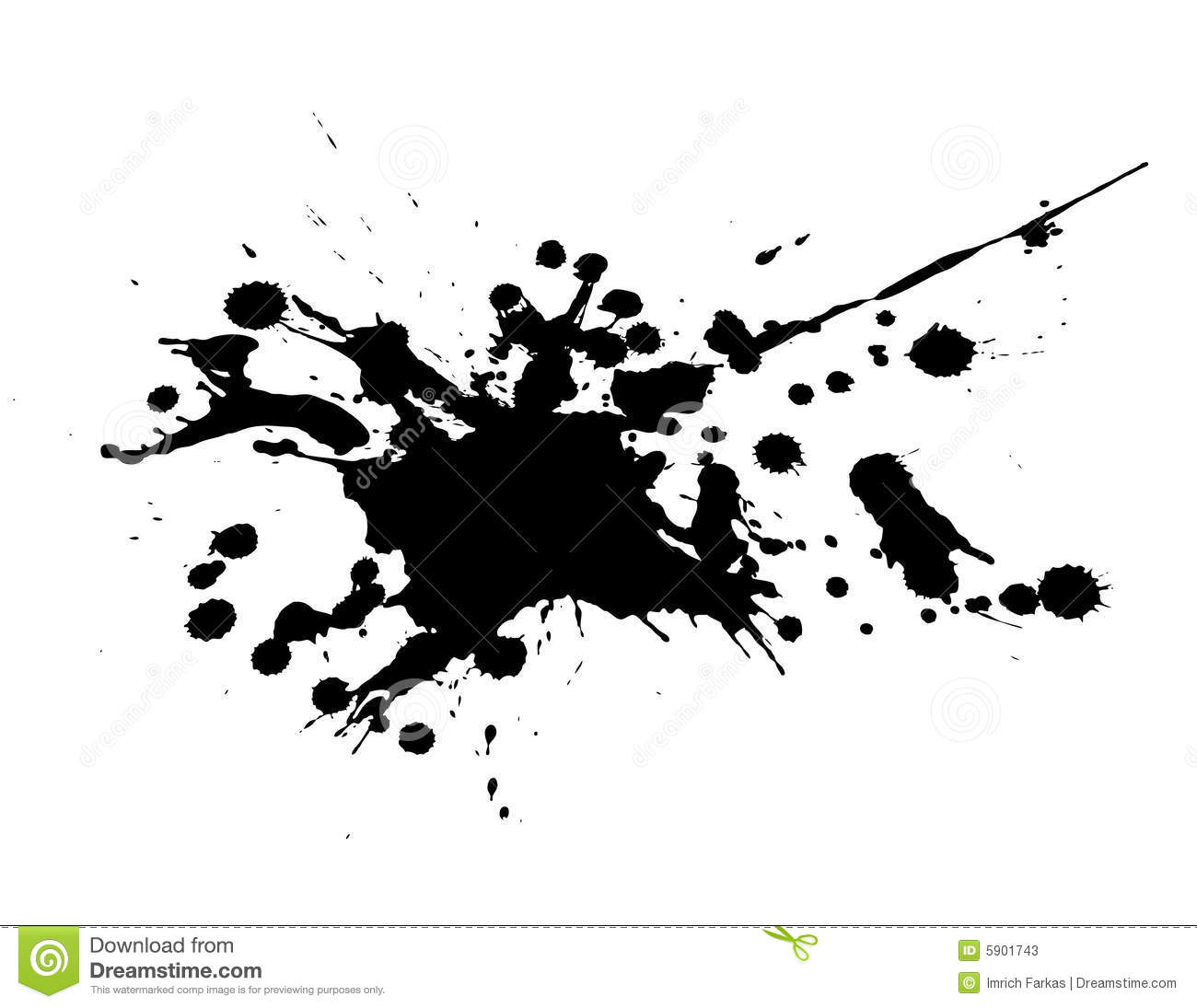 Black And White Splash Vector Stock Photos Image 5901743
