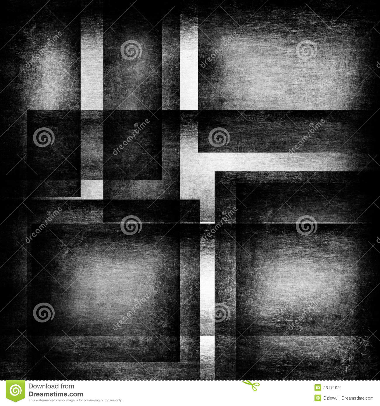 Black And White Squares Stock Image - Image: 38171031
