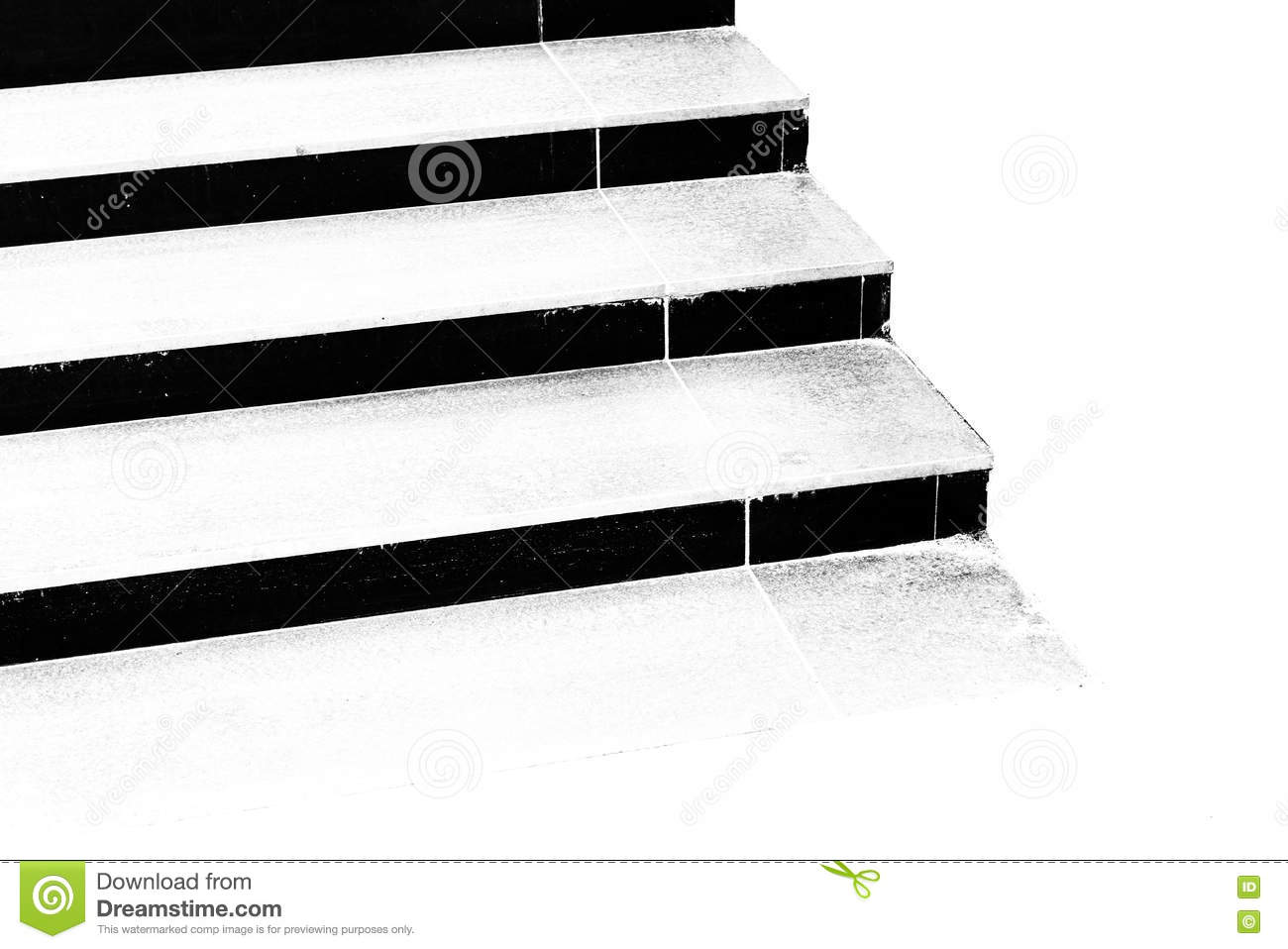 black and white steps of stairs stock image image of vertically