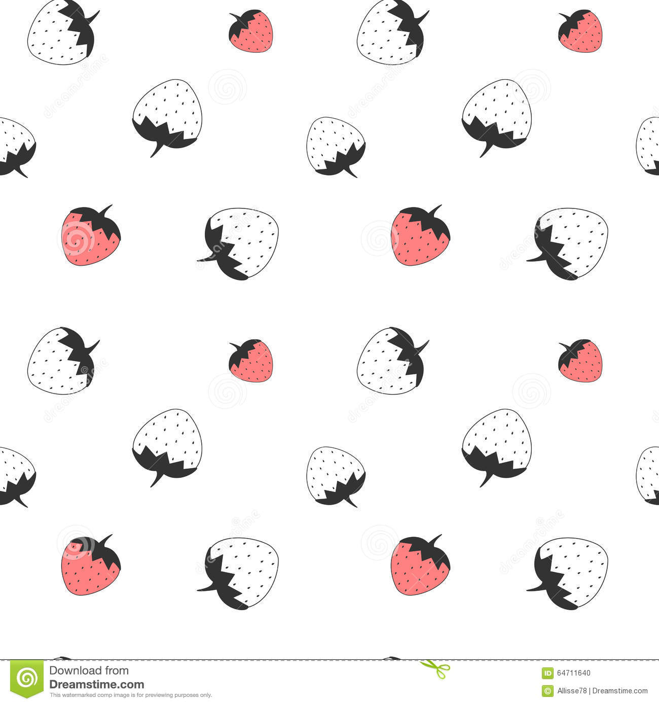 Black and White Checkerboard Pattern  Free Clip Art