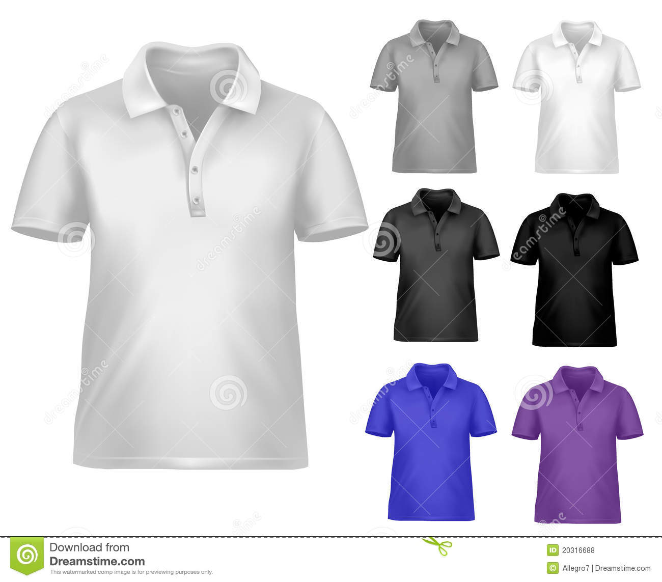 black and white t shirt design template royalty free stock