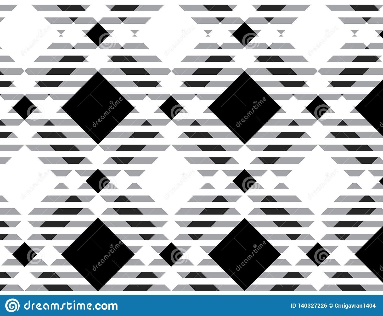 Black and white tartan plaid pattern.- Vector illustration.-EPS-10