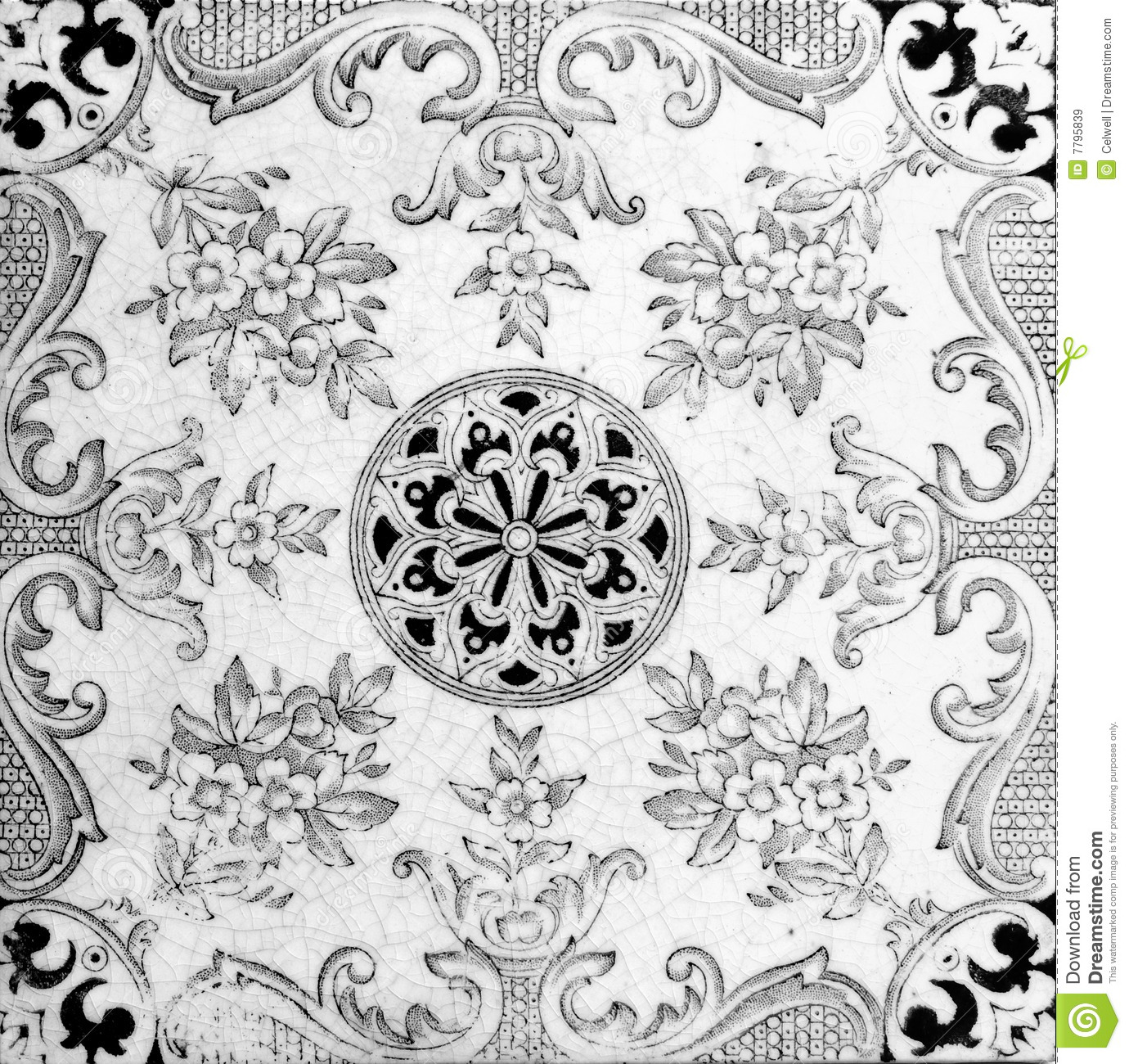 Black And White Tiles Black And White Tile Pattern Royalty Free Stock Images Image