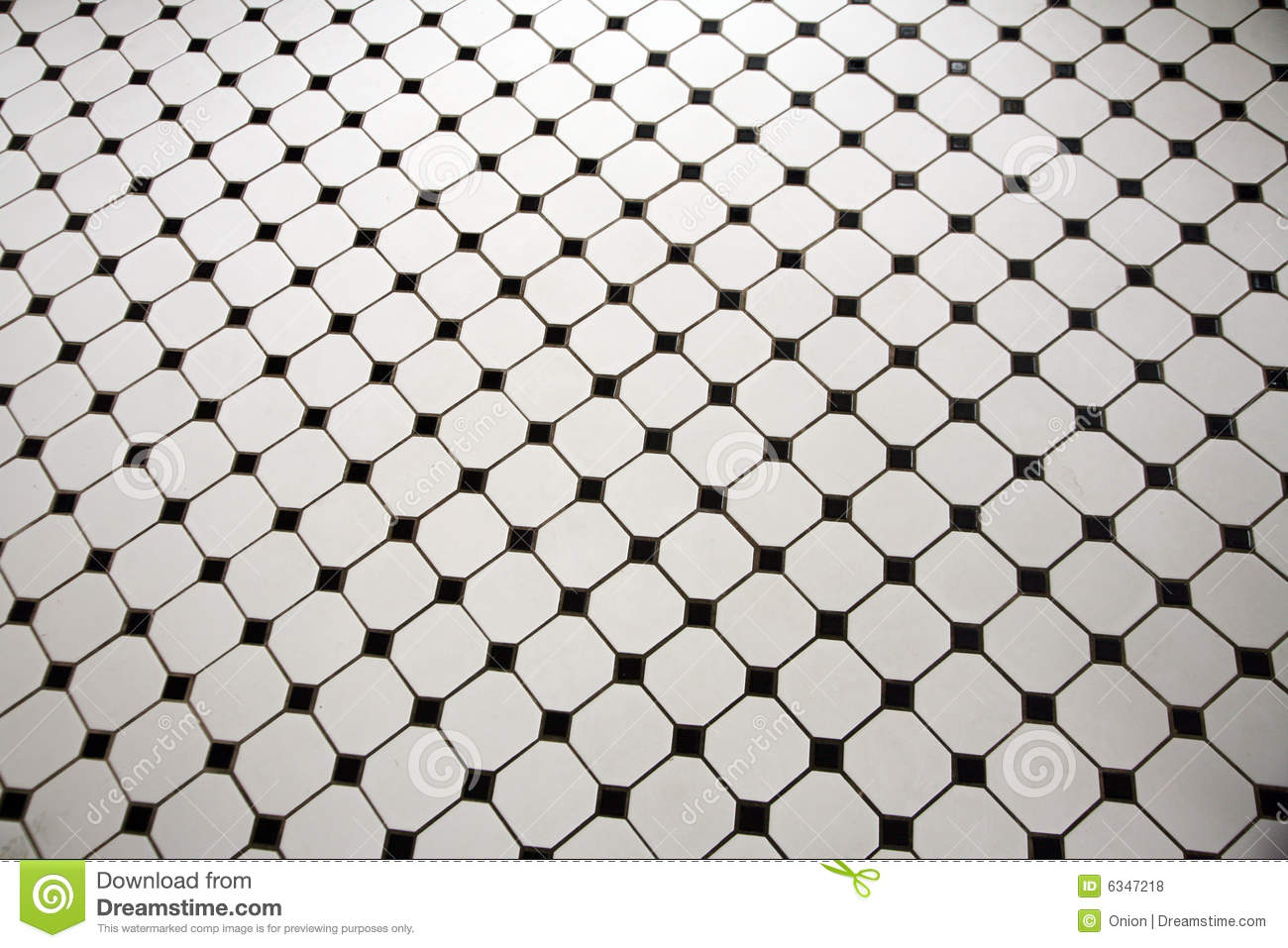 Black and white tiled floor stock photo image 6347218 for Black and white tile floors