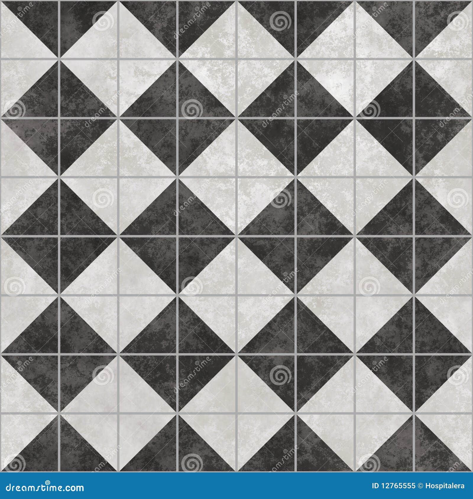 black and white tiles stock illustration illustration of. Black Bedroom Furniture Sets. Home Design Ideas