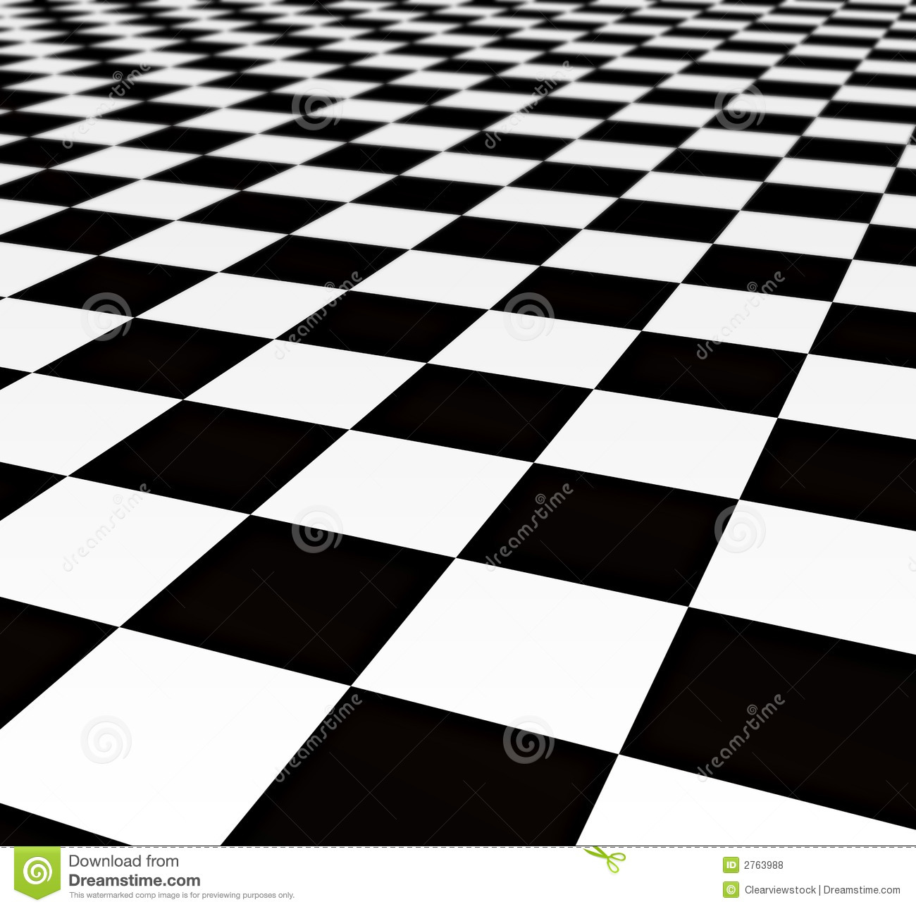 Black And White Tiles Stock Illustration Illustration Of