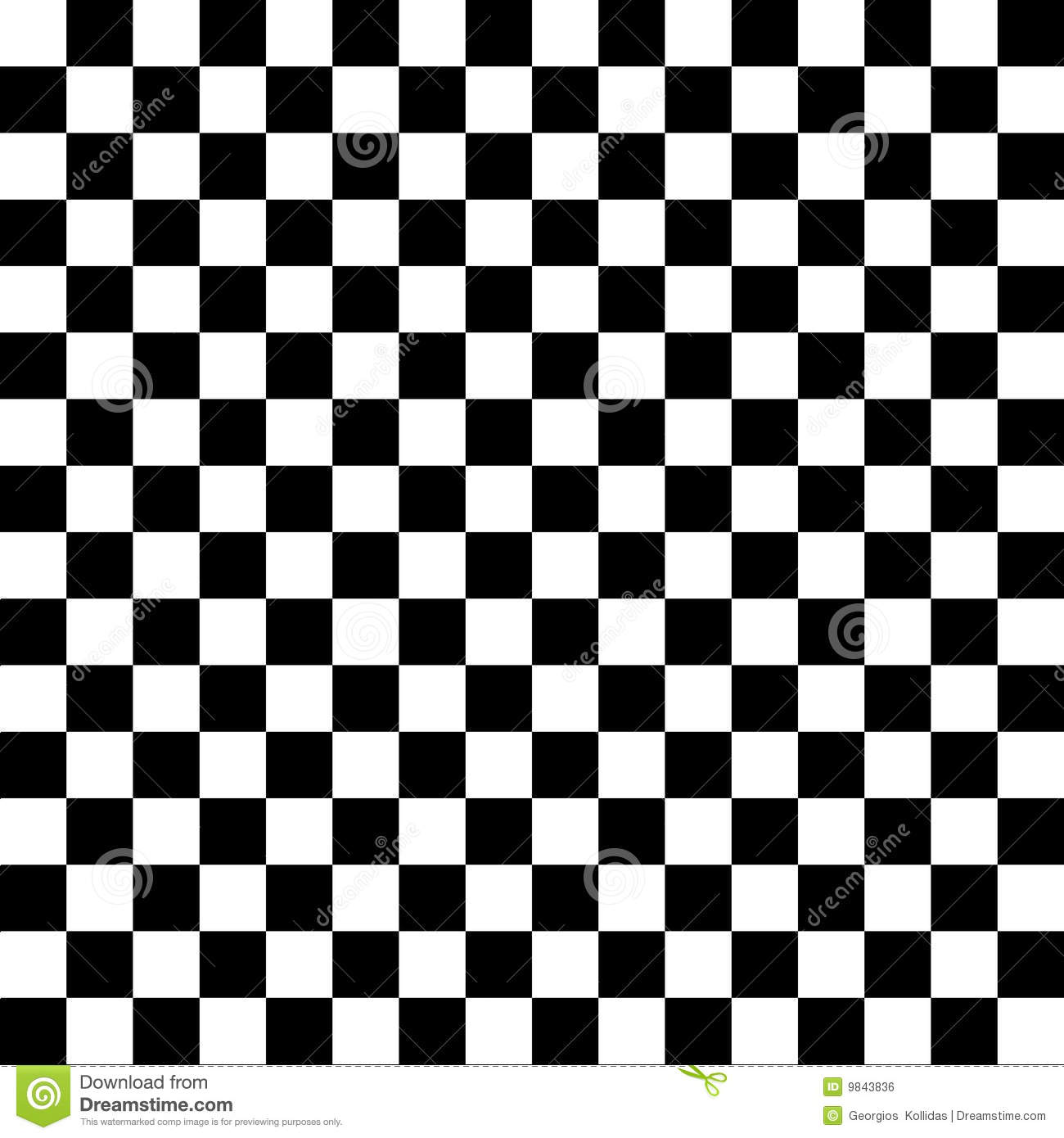 Black And White Checkerboard Tiles Stock Images - Image: 11070794