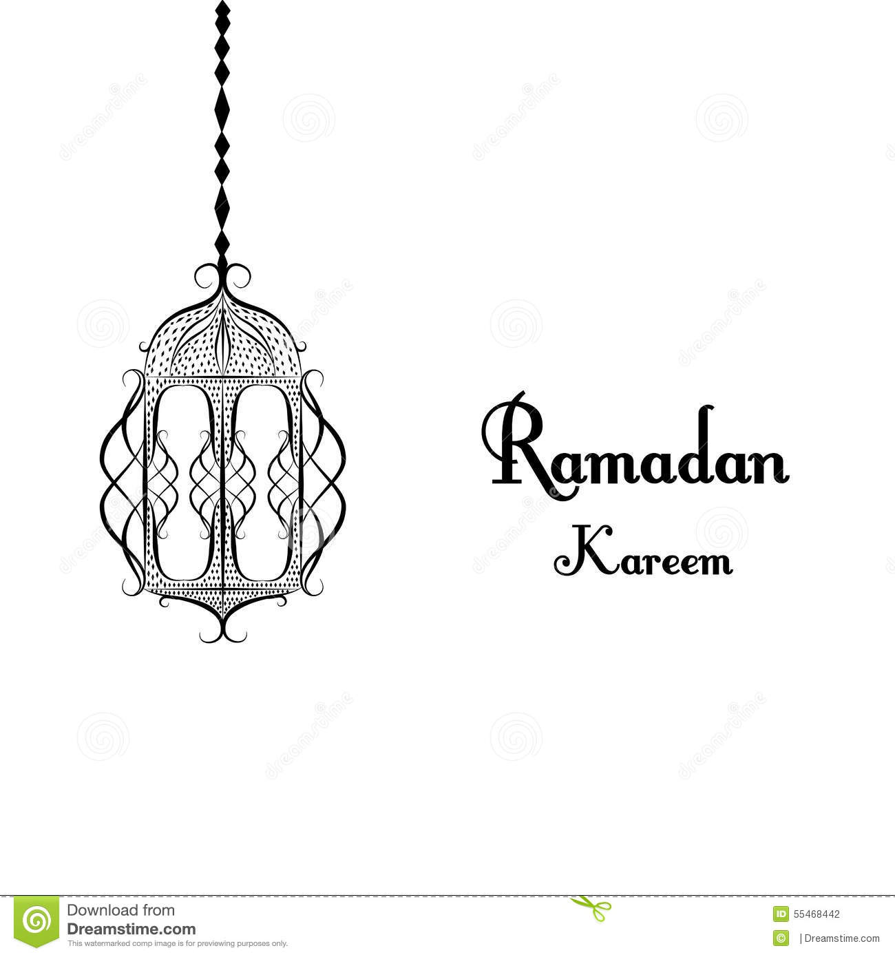 Black and white traditional lantern of ramadan ramadan kareem black and white traditional lantern of ramadan ramadan kareem beautiful greeting card with arabic calligraphy which means ramad kristyandbryce Gallery