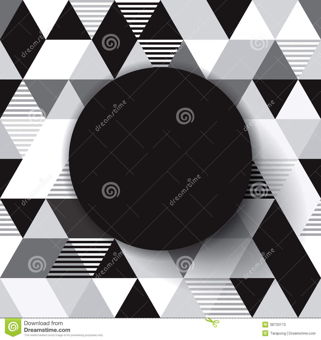 Black Book Cover Design ~ Black and white vector geometric background stock