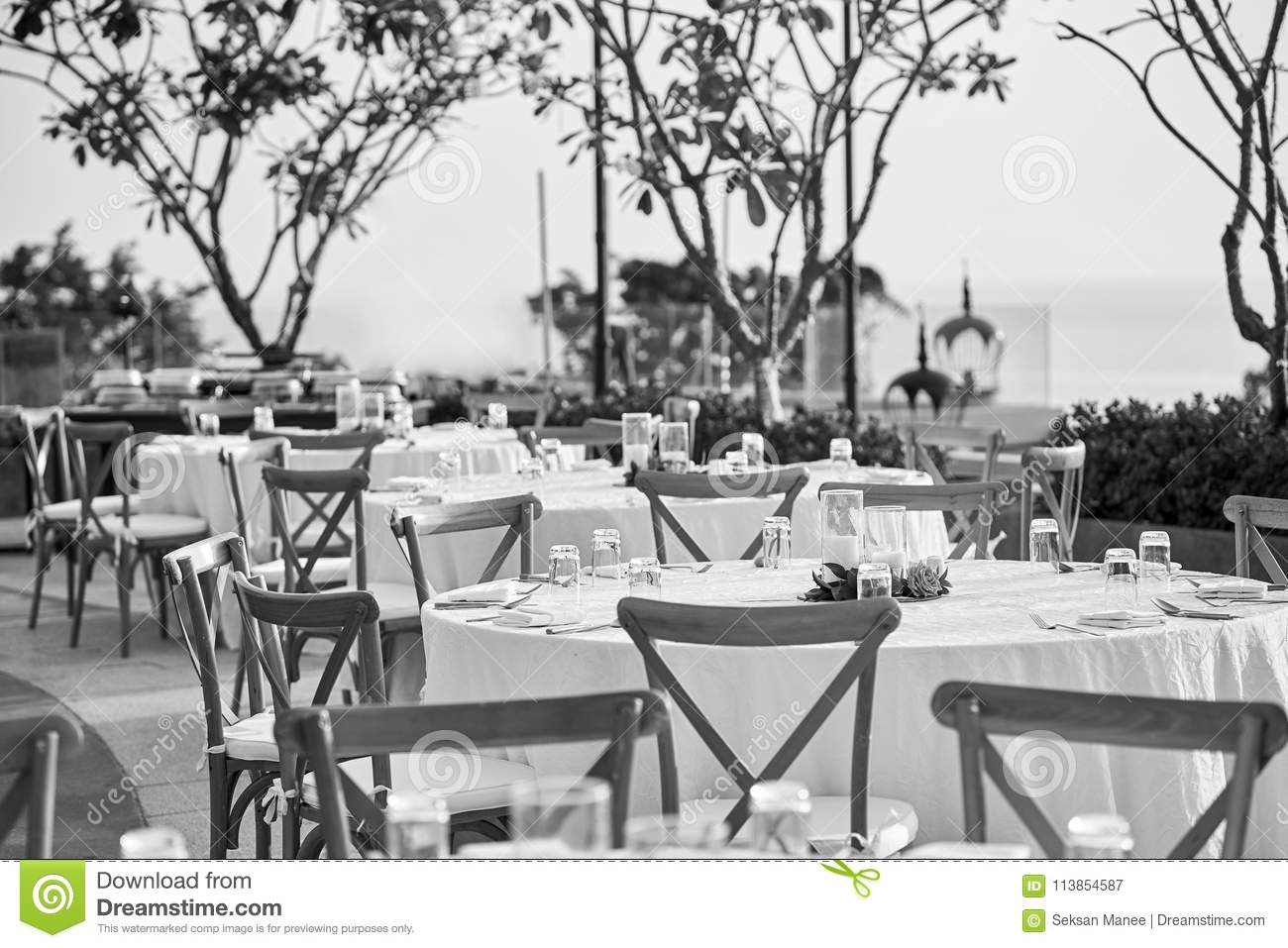 Stupendous Wedding Reception Dinner Table Setting With Folding Lawn Inzonedesignstudio Interior Chair Design Inzonedesignstudiocom