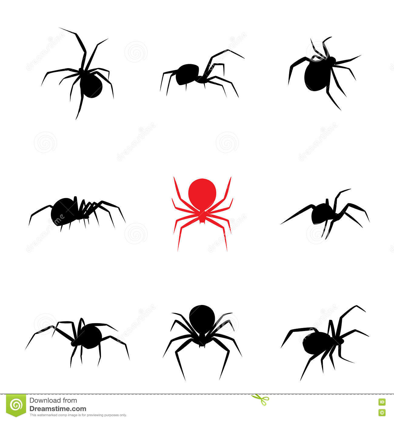 black widow spider silhouette - photo #21