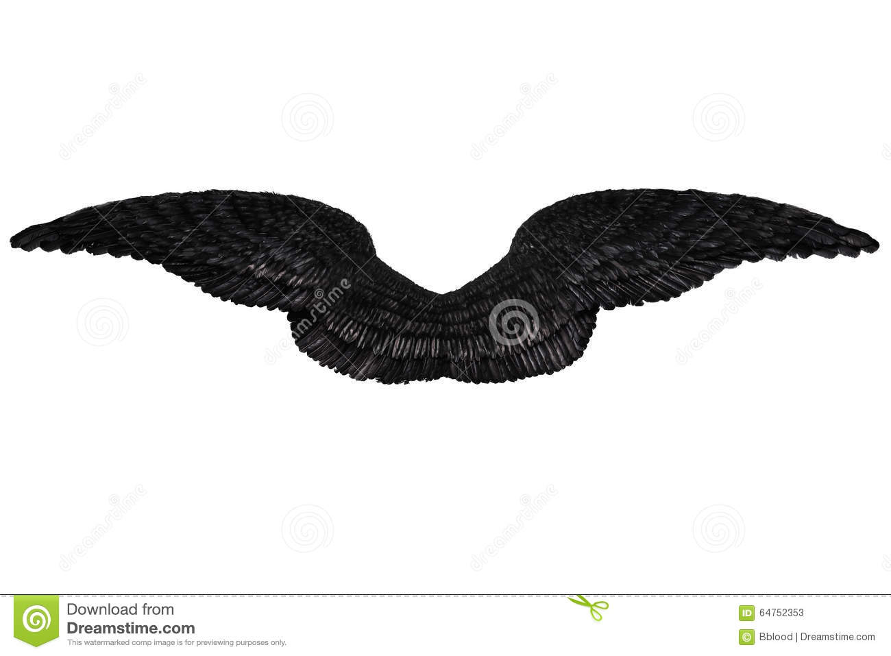 angel wings black background - photo #14