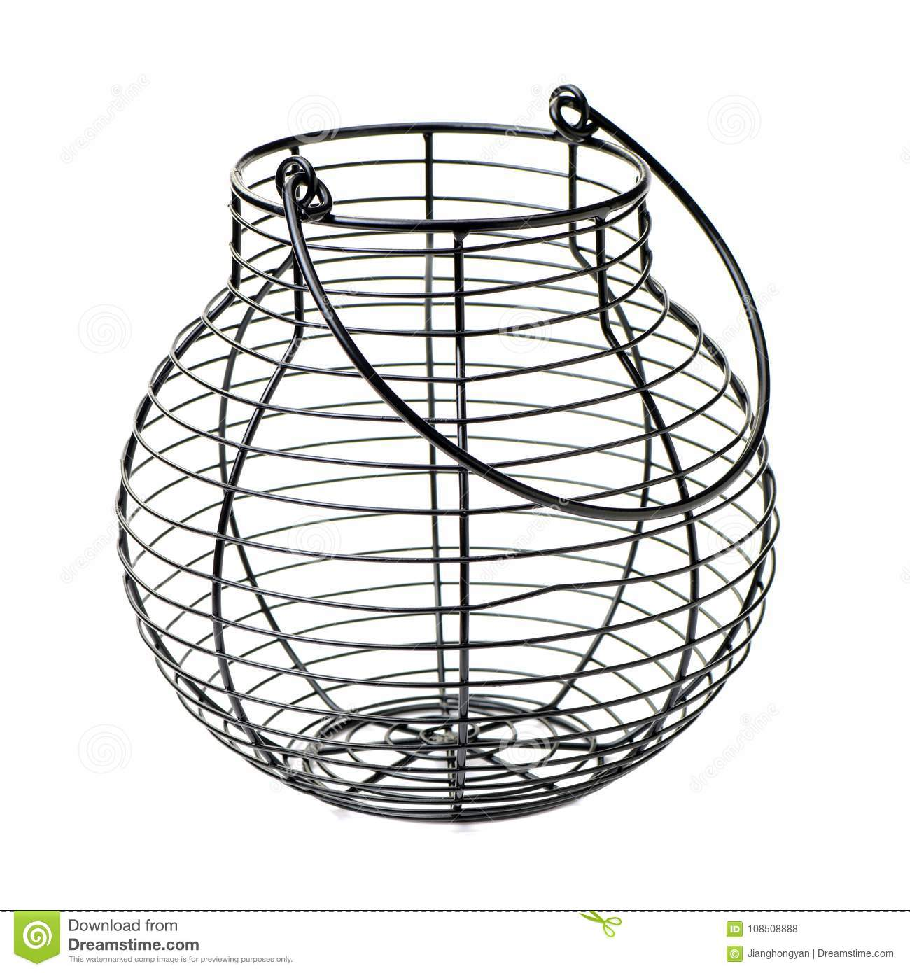 Wire egg basket stock photo. Image of kitchenware, carrier - 108508888