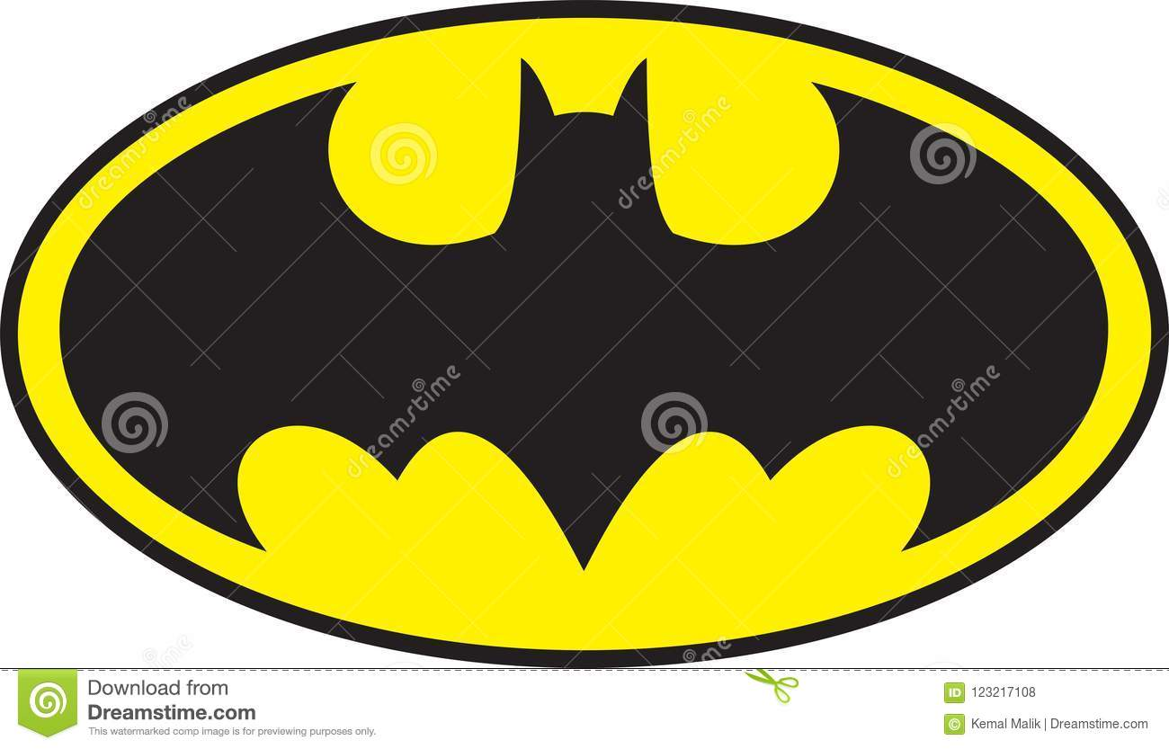 Download Batman Logo Stock Vector Illustration Of