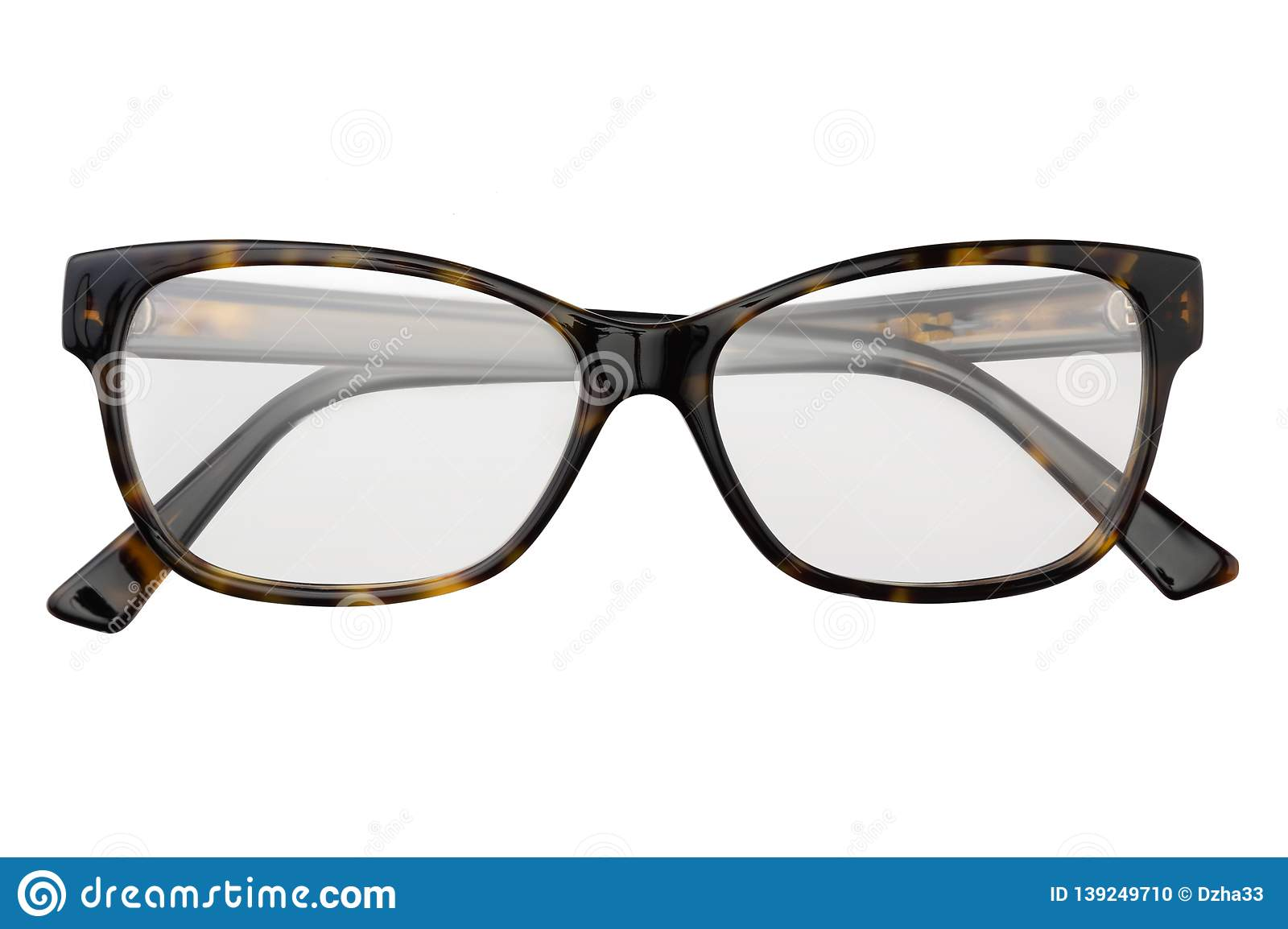 e0c0b89df3ea Black and yellow glasses in rectangular frame transparent for reading or good  eye sight
