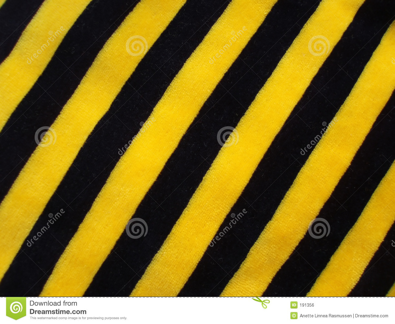 Black And Yellow Striped Fabric Stock Photo - Image of fashion ...