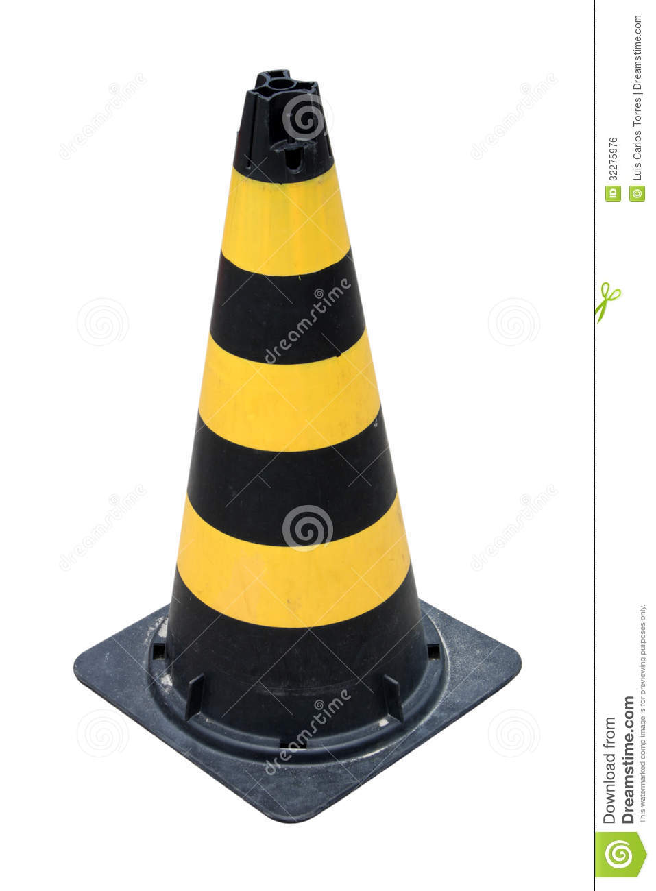 Under Construction Tape Background Black And Yellow Traff...