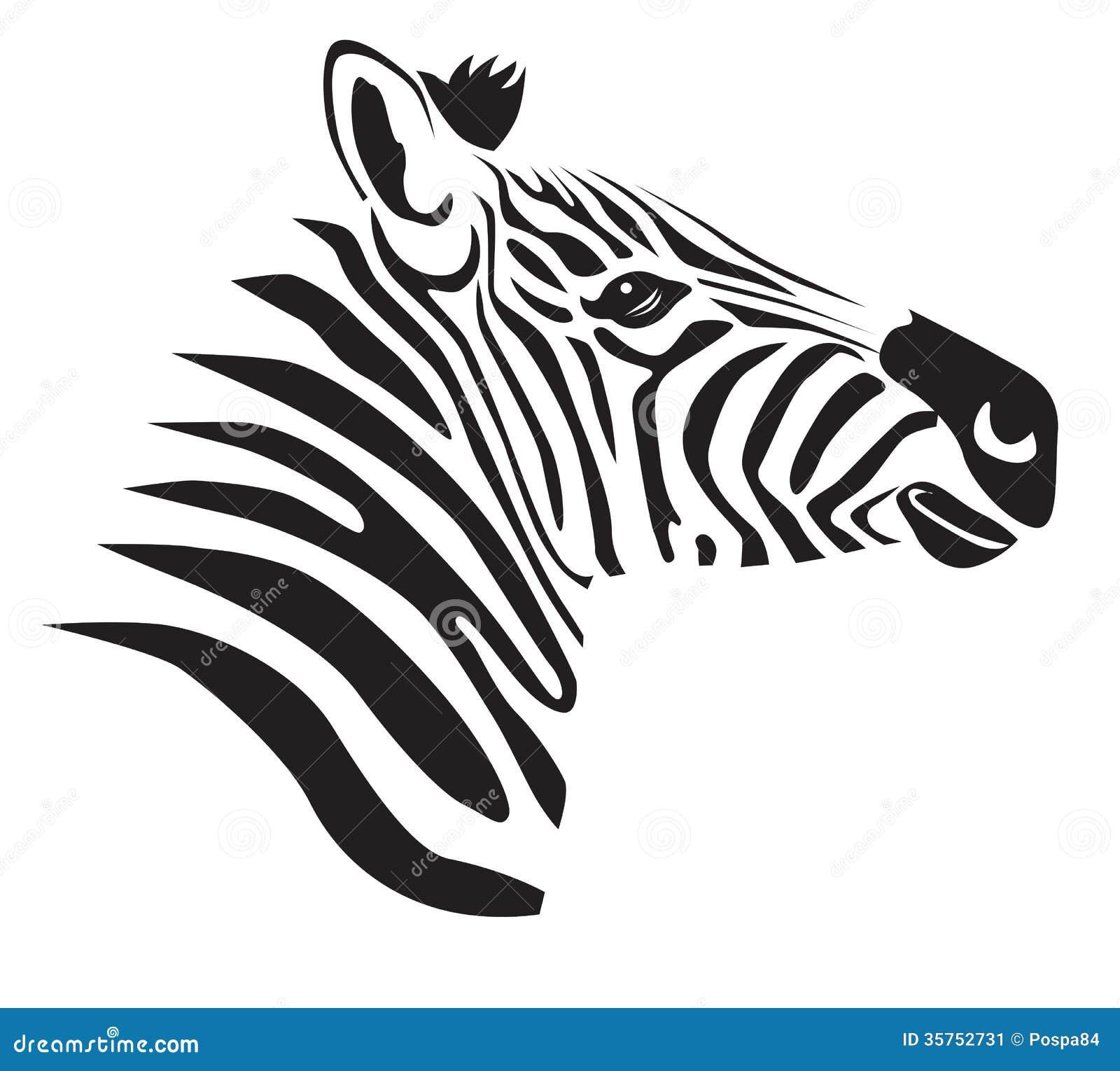 Black Zebra Stock Image - Image: 35752731