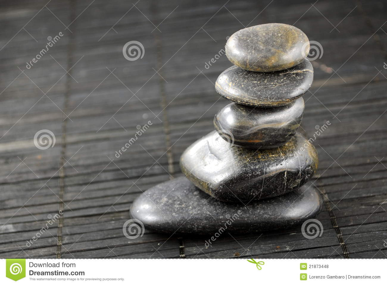 zen stones and bamboo - photo #47