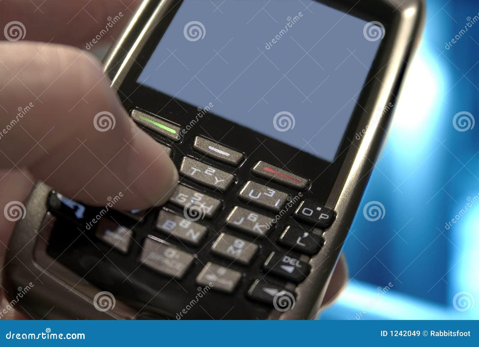 Blackberry in Hand