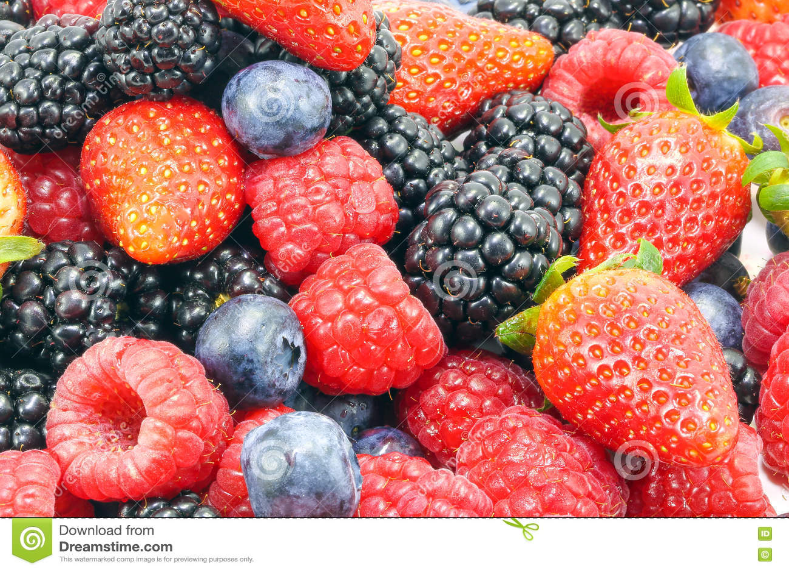 Fruit Strawberry/Blueberry