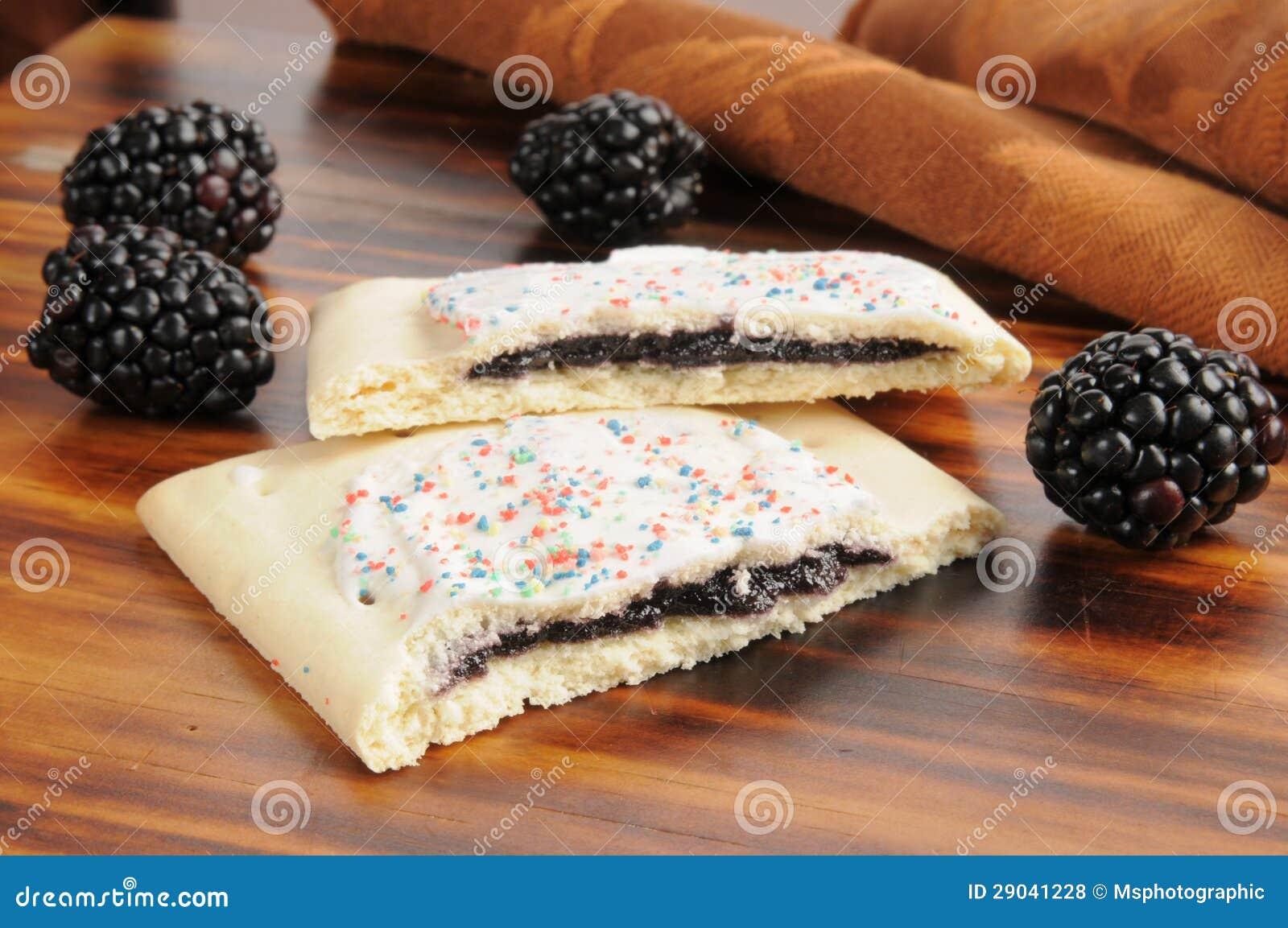 Blackberry Toaster Pastries Royalty Free Stock Photos - Image ...