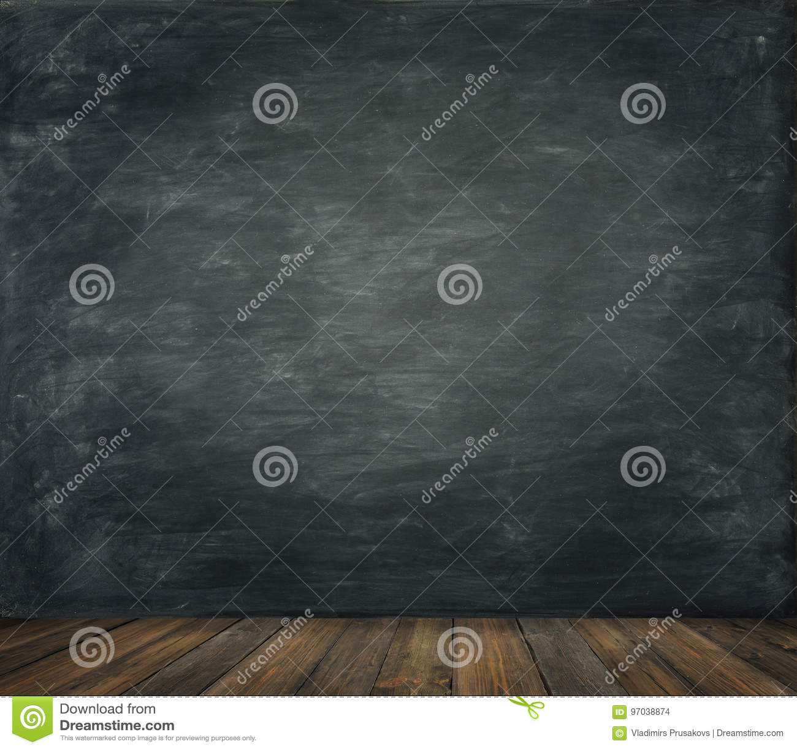 Blackboard Ścienny Drewniany Podłogowy tło, Szkolna czerni deska