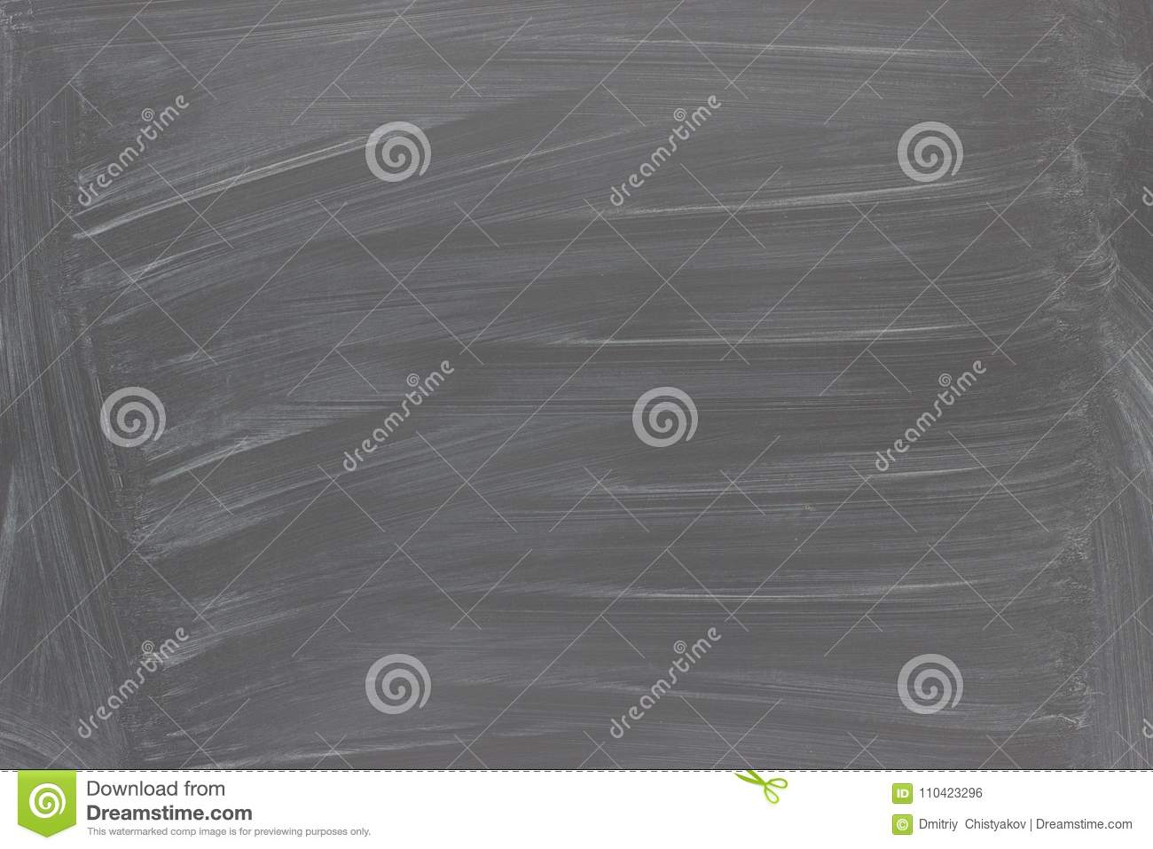 Download Black Chalkboard Background Texture Blackboard With Chalk Trace Stock Photo
