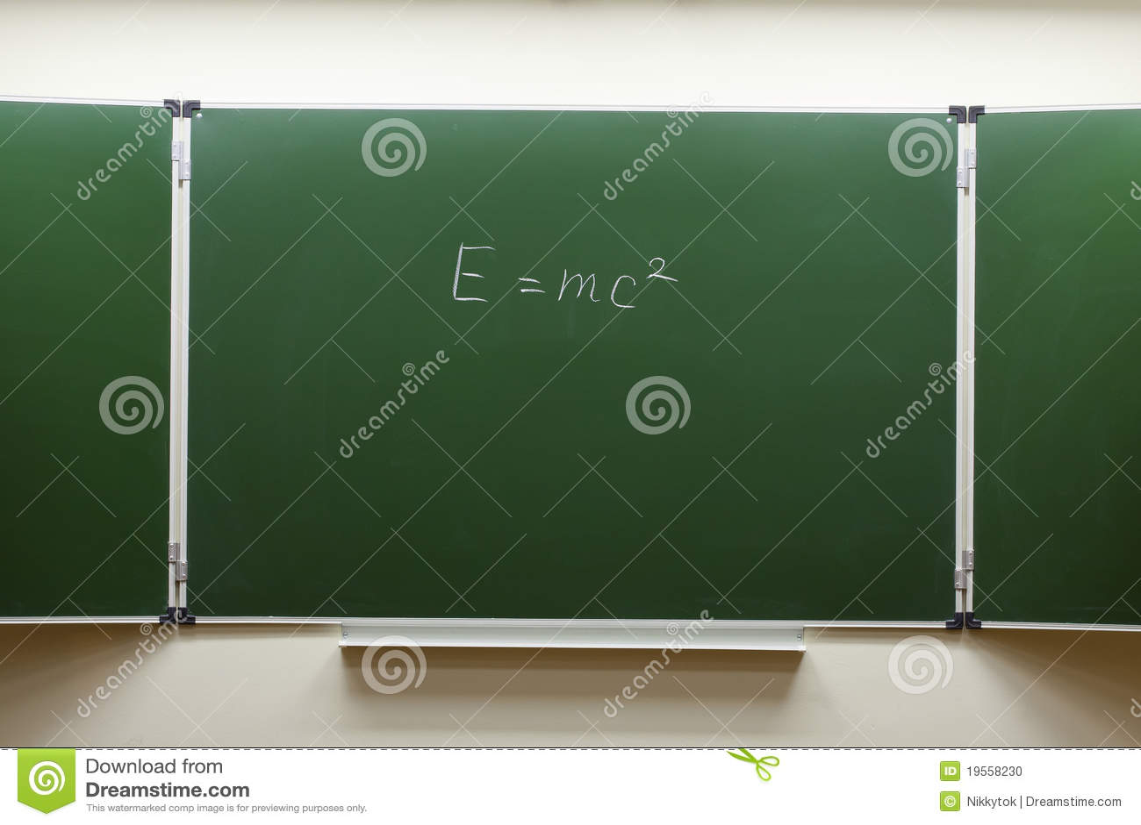 Blackboard Innovative Classroom ~ Blackboard in the classroom stock photo image