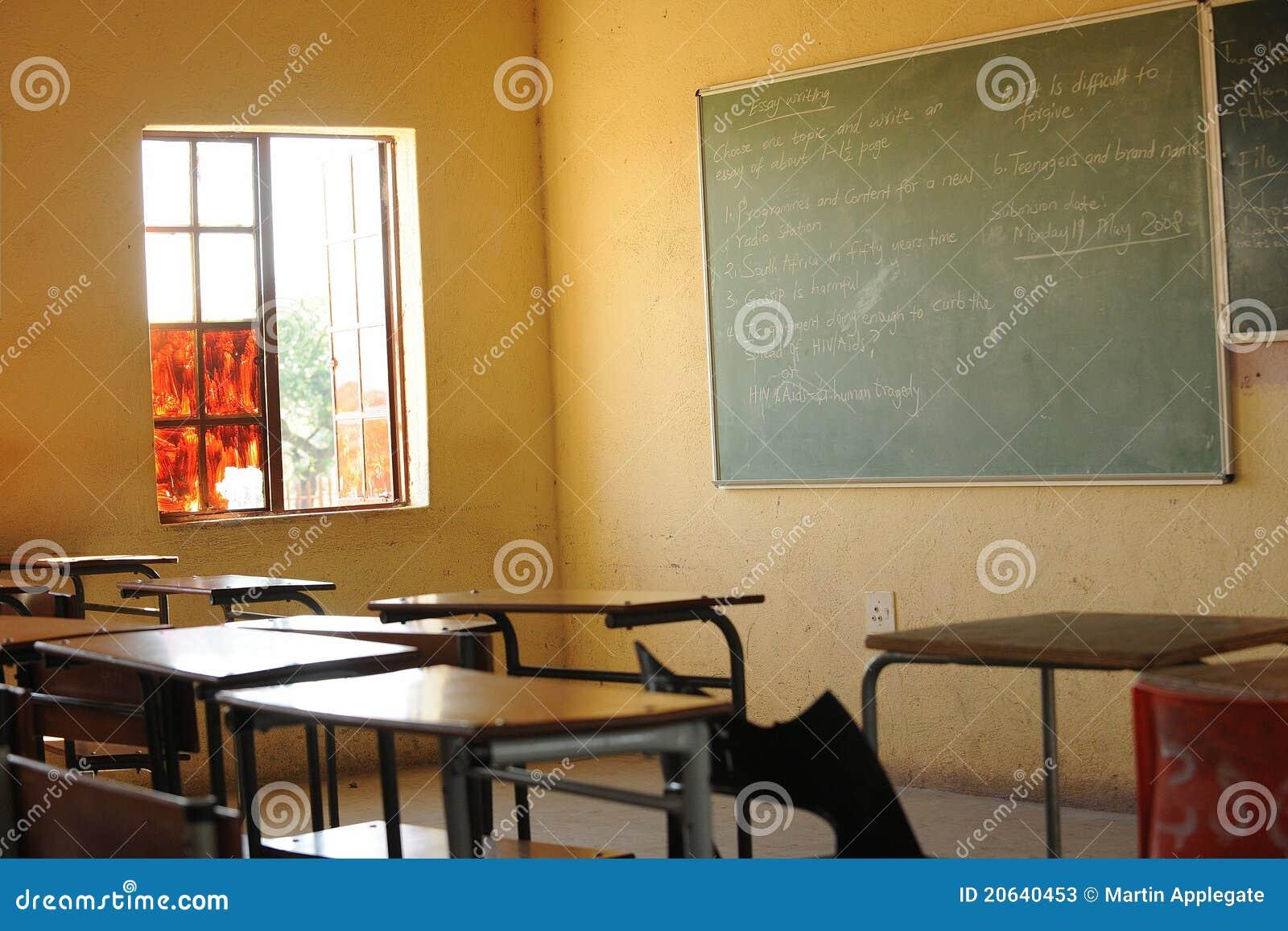 Classroom Blackboard Design ~ Blackboard in classroom stock photos image