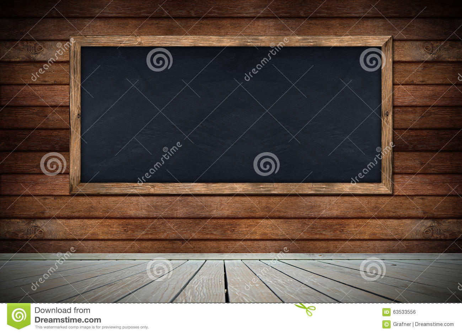innovative wooden floor with a blackboard 14