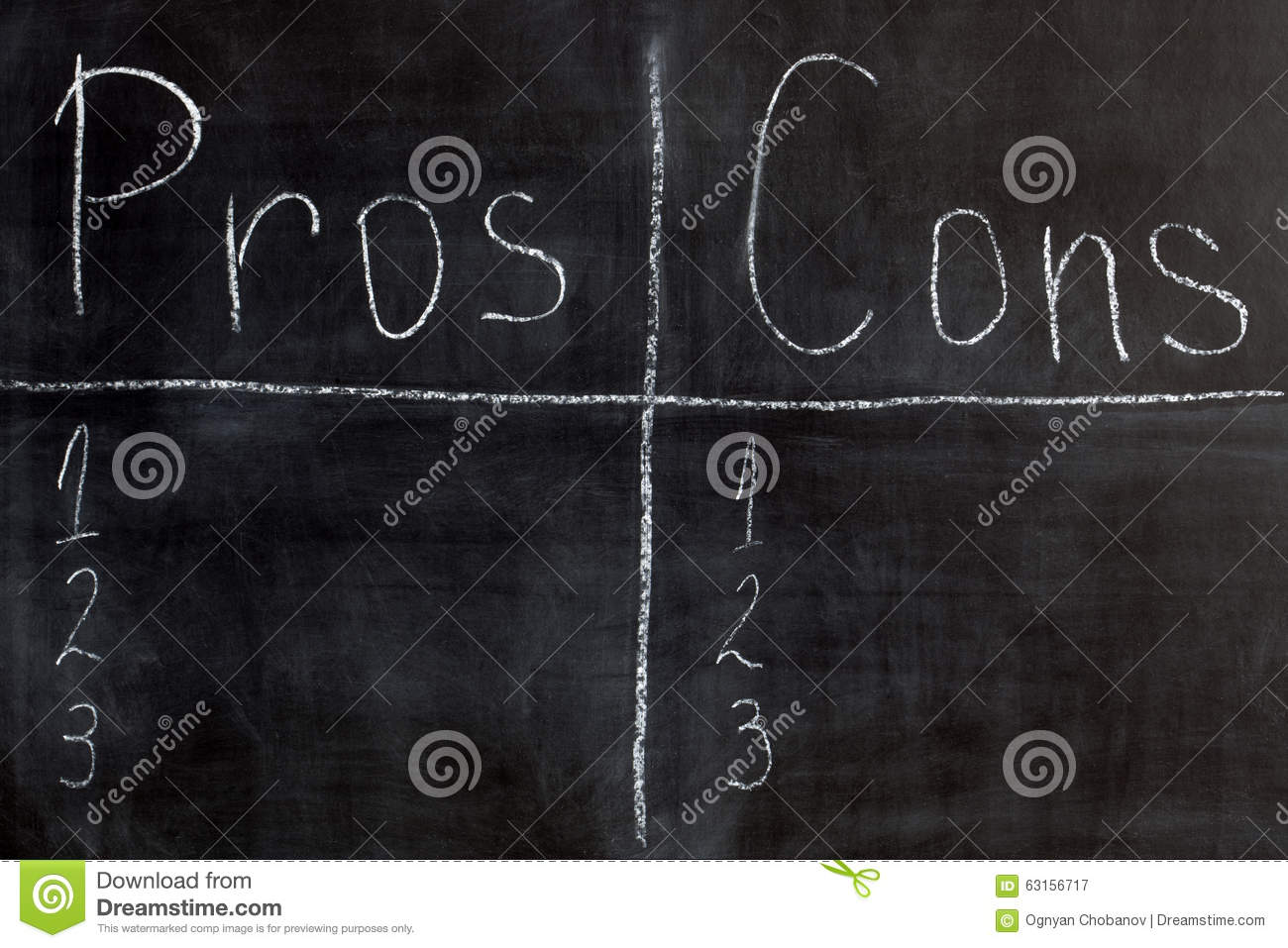 free writing pros and cons