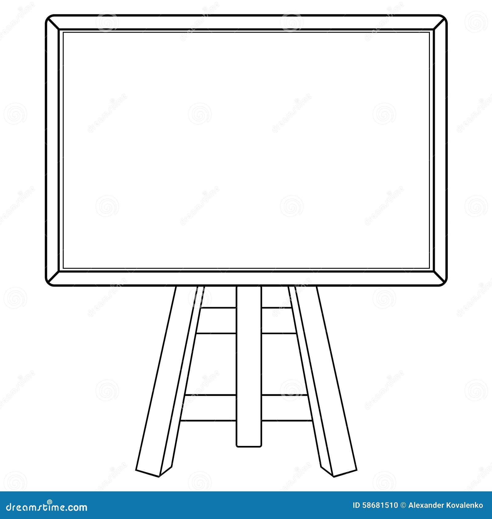 blackboard stock illustration illustration of blank chalk clipart chalk clip art png