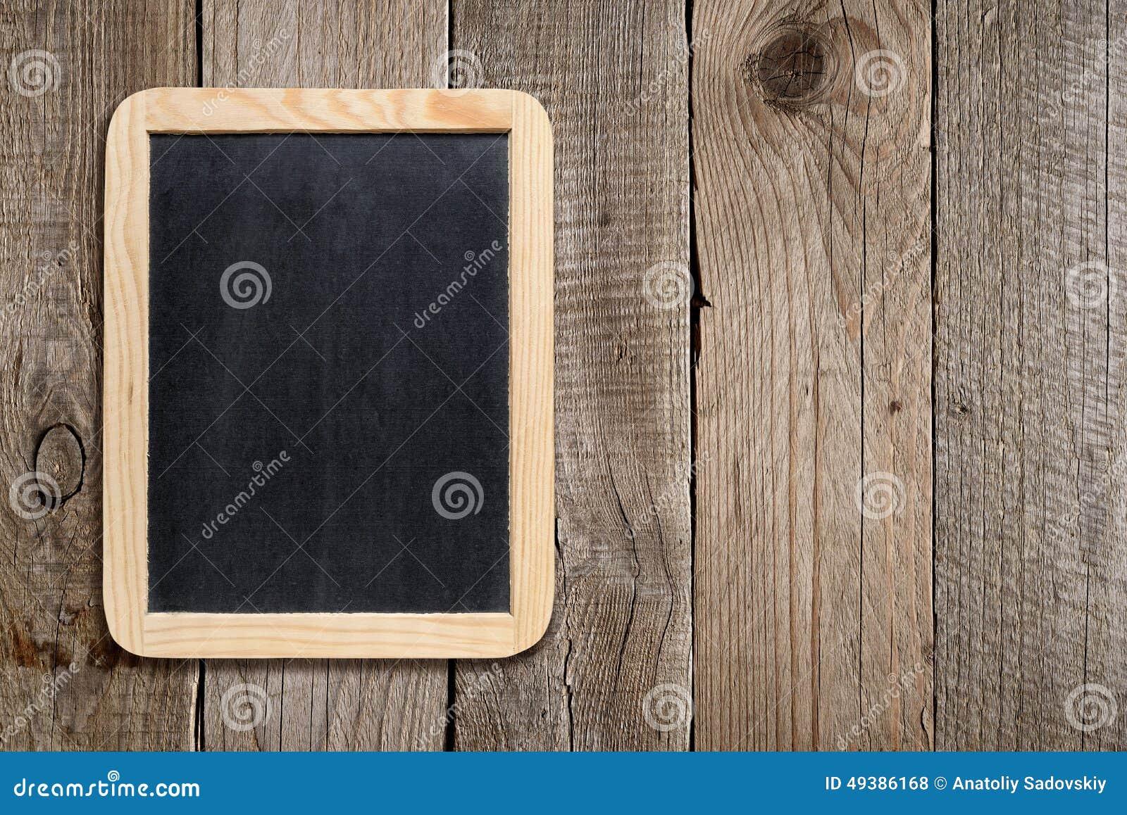 Blackboard pusty