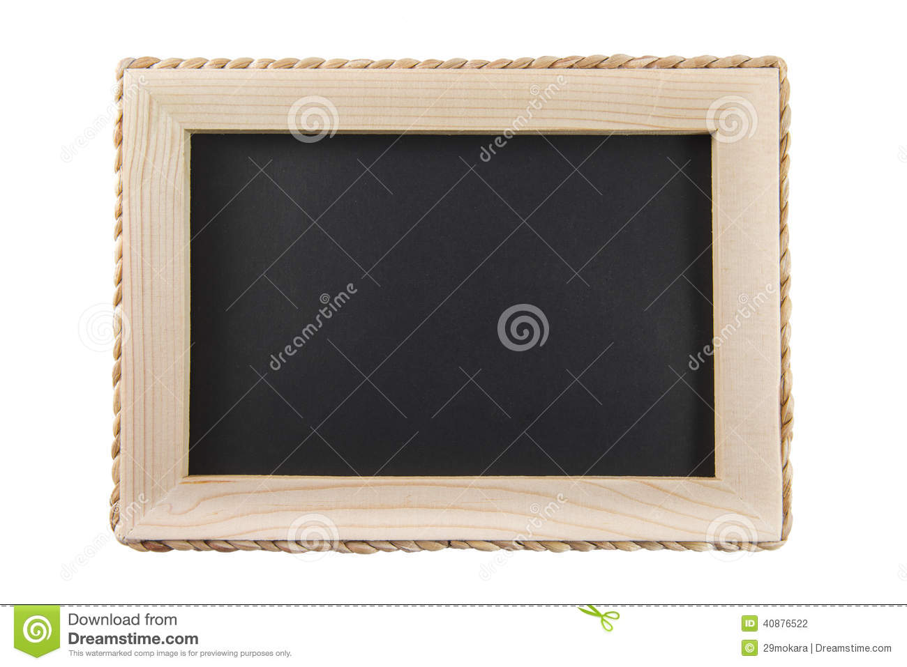 M Blackboard Wooden Frame Pictures to pin on Pinterest