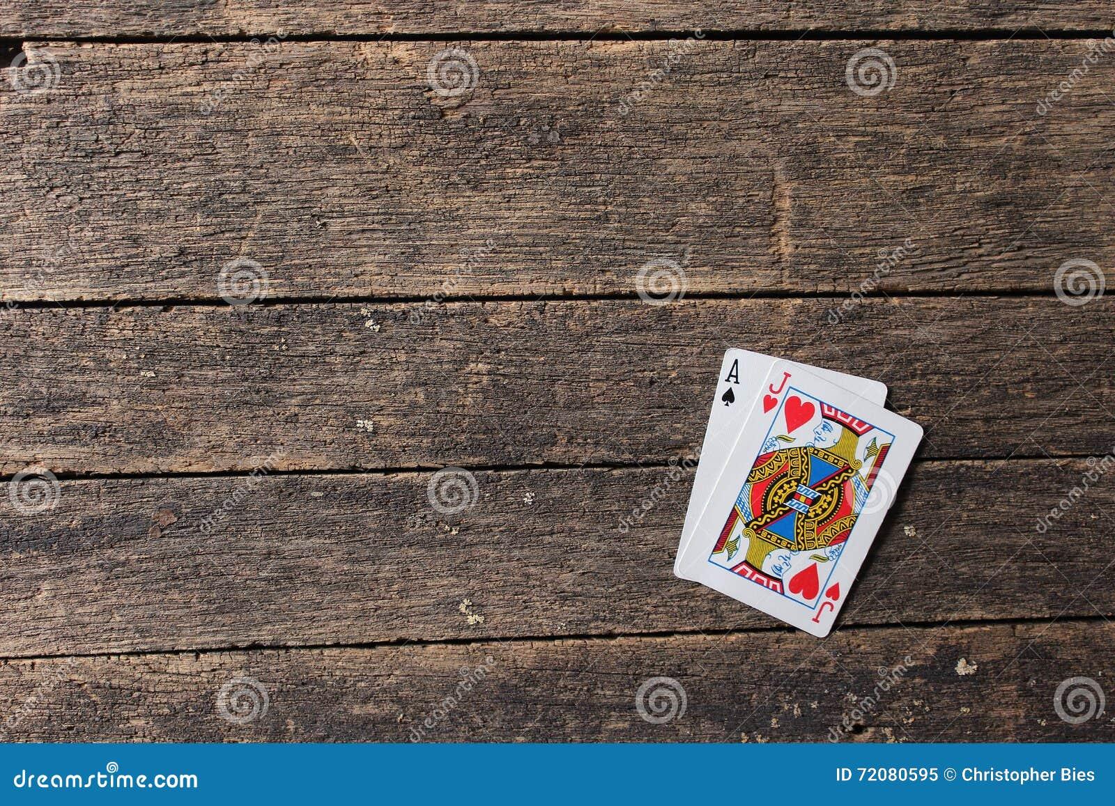 Blackjack Cards stock image  Image of spades, game, blue