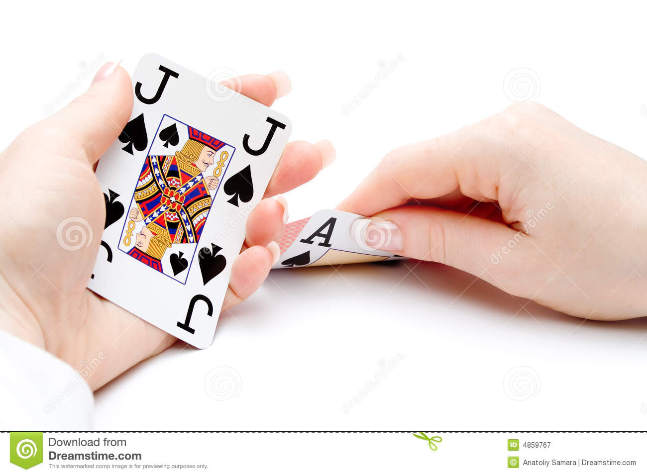 Chances of losing 6 blackjack hands in a row
