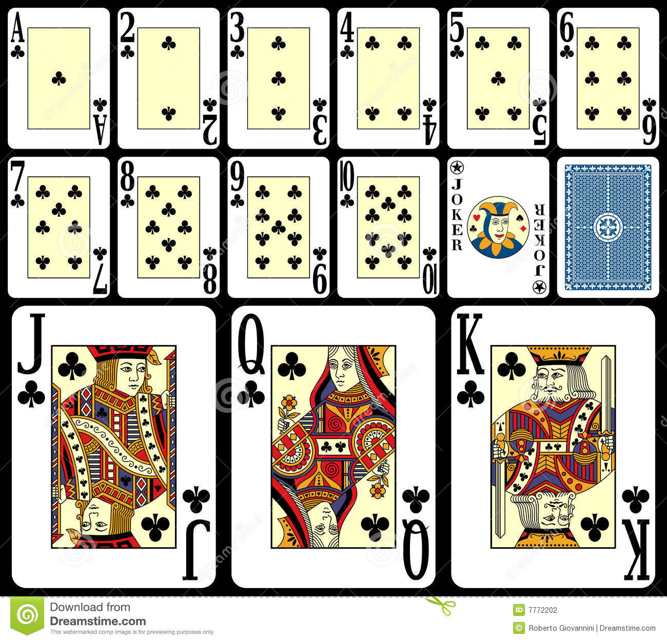 Blackjack Playing Cards [3]