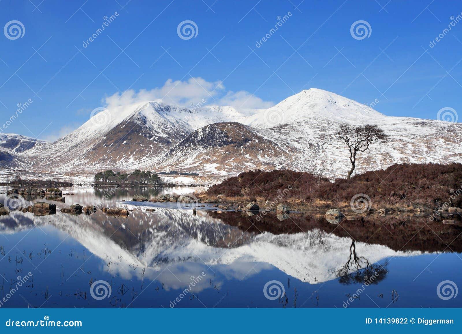 Blackmount in de Winter