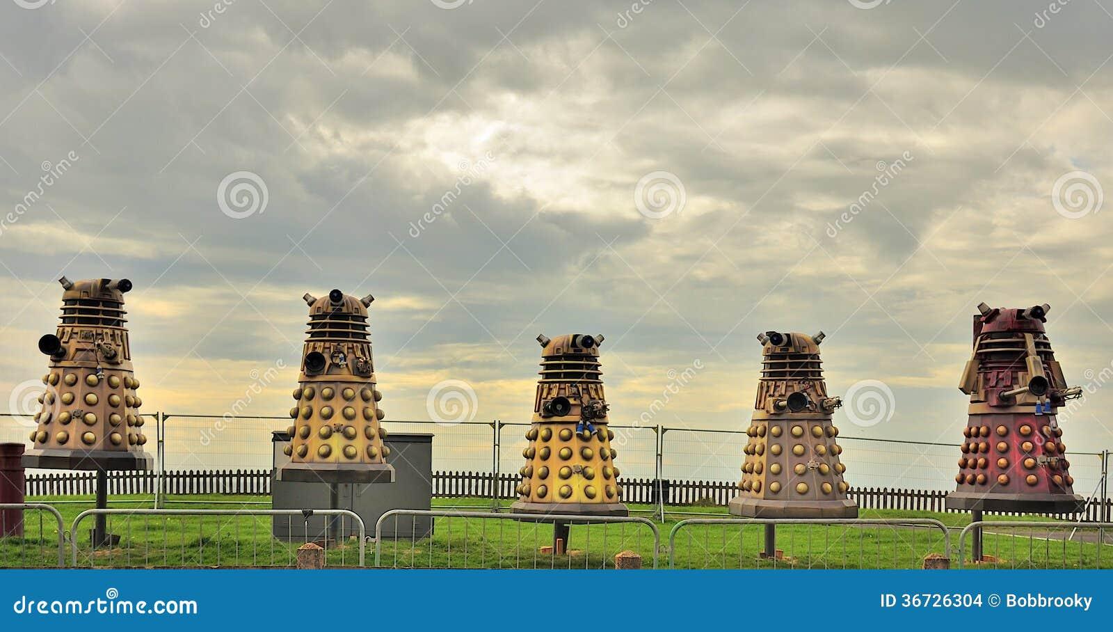 Blackpool Illuminations Daleks Editorial Stock Image ...