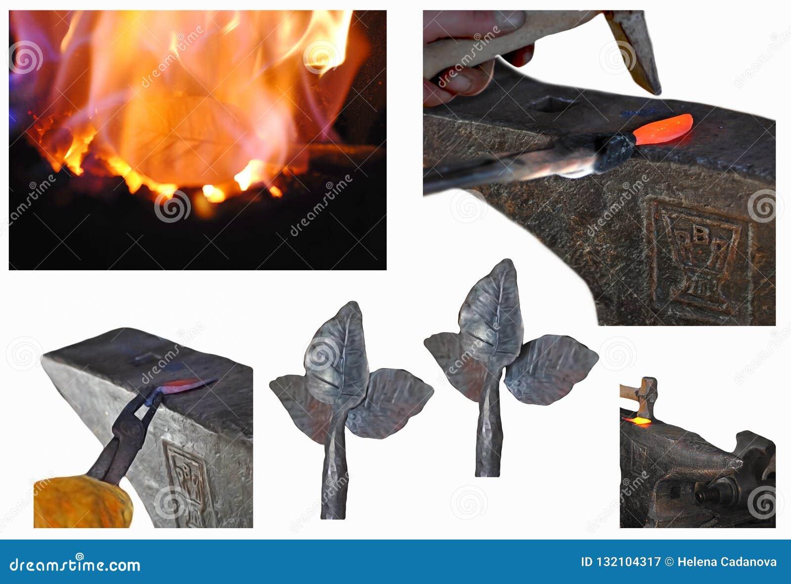 Blacksmithing Lesson Step by Step