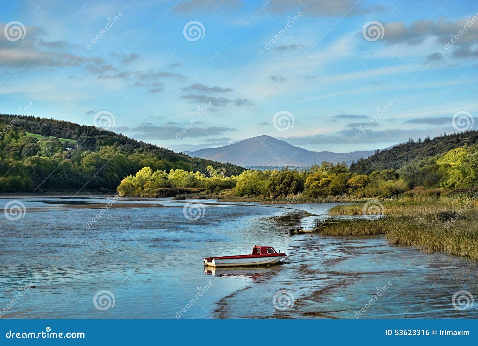 Blackwater river in Ireland