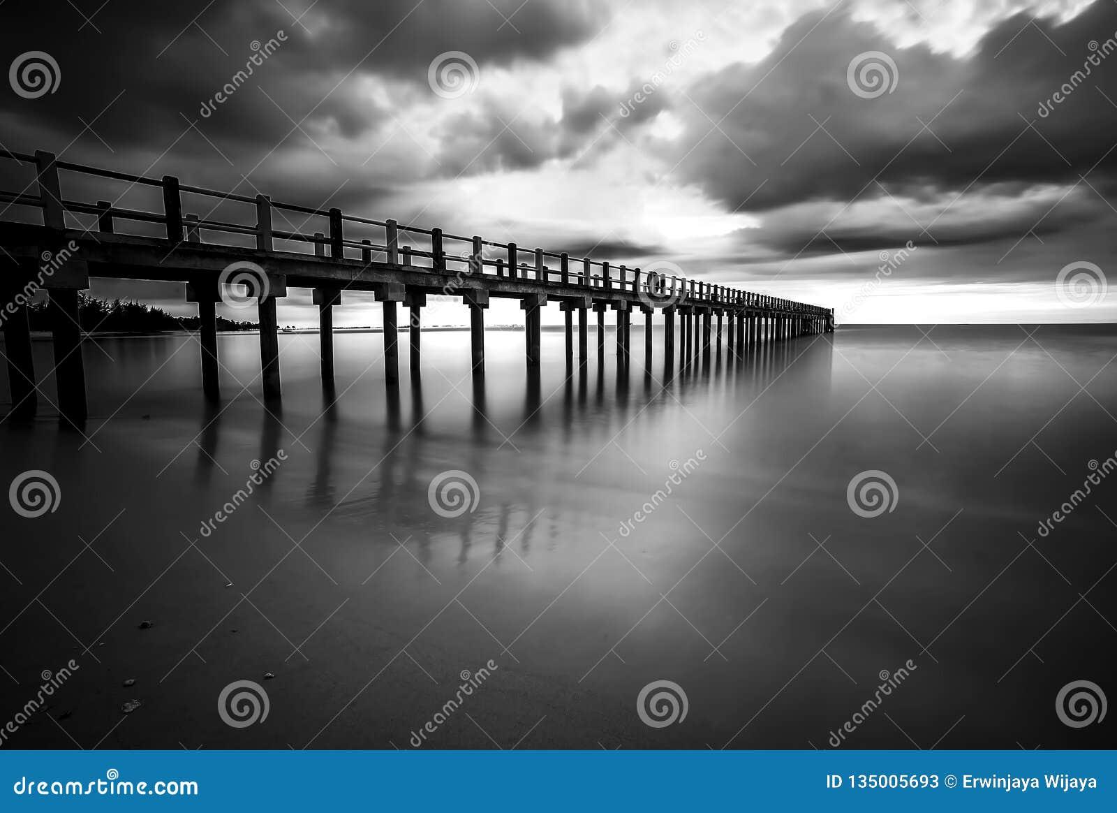 Black and white photos at batam bintan islands