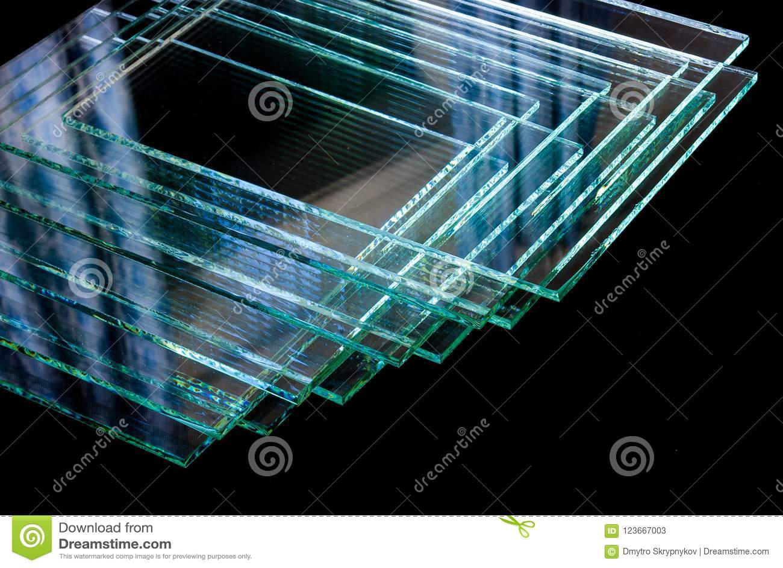 Bladen van Fabriek die de aangemaakte duidelijke die panelen vervaardigen van het vlotterglas aan grootte worden gesneden