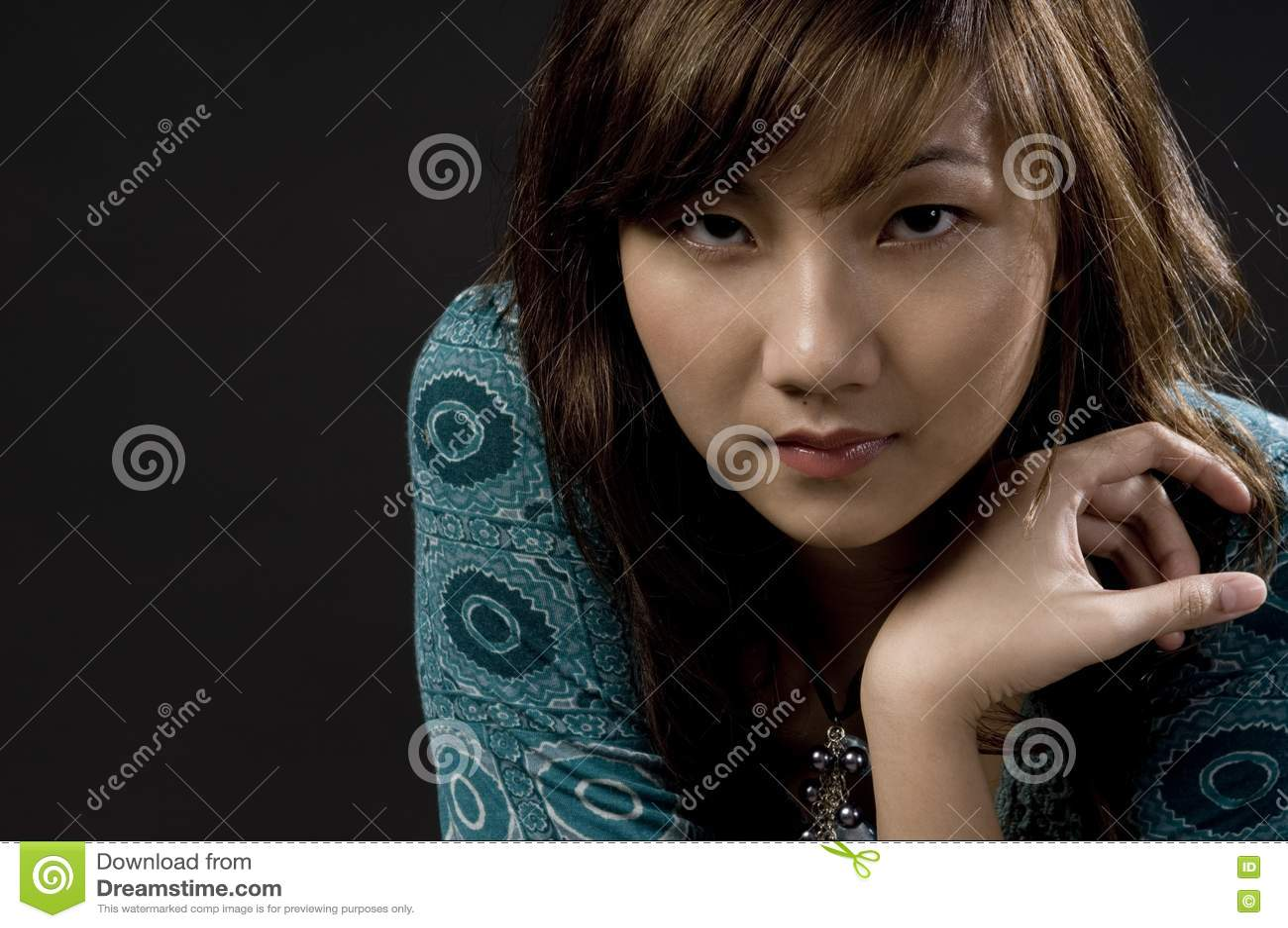 Blady Azjatycki piękno